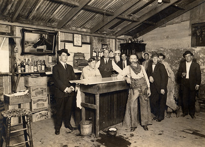 Inhabitants of H&H Bar. #1956.069.004.