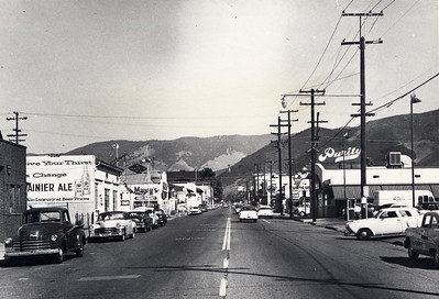Marsh Street from Nipomo Street, San Luis Obispo.
