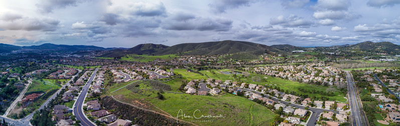Twin Oaks Valley Panoramic