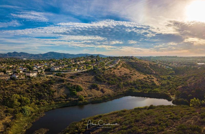 Santa Fe Hills Pond