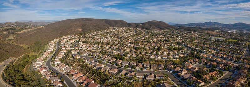 Santa Fe Hills suburban Panoramic