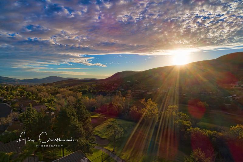 Twin Oaks Valley Sunburst