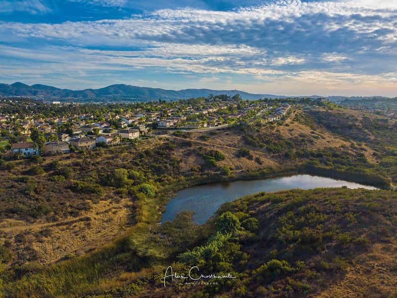 Pond in Santa Fe Hills