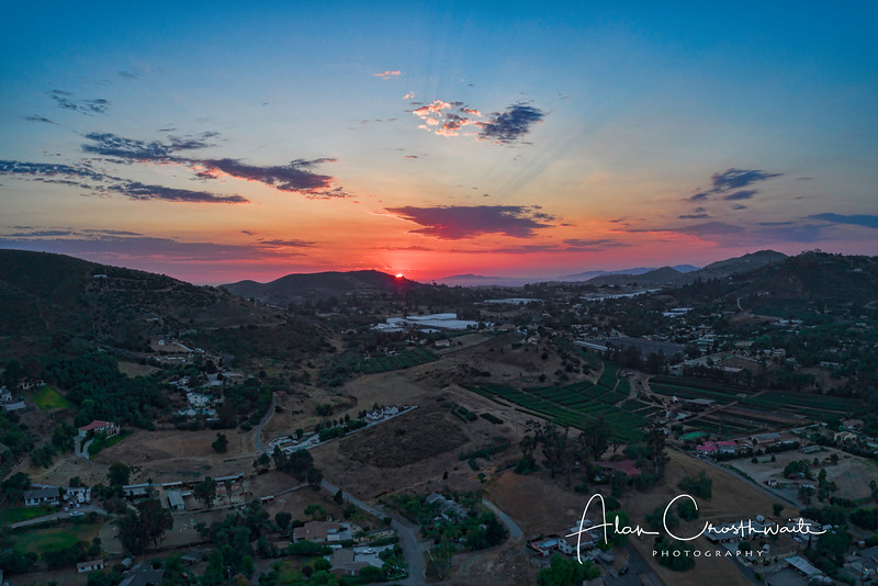 San Marcos HDR Sunset