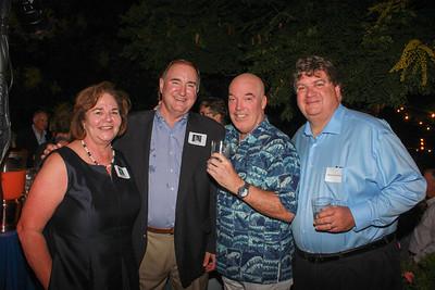 Lynne Lieber, Bill Garrett, Bill Steele and Steve La Carruba