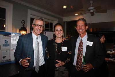 Bill Grady, Sandra Kennedy and Malcolm McColl