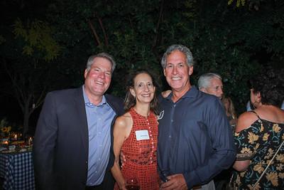 Scott Marshall with Janice and Tom Bea