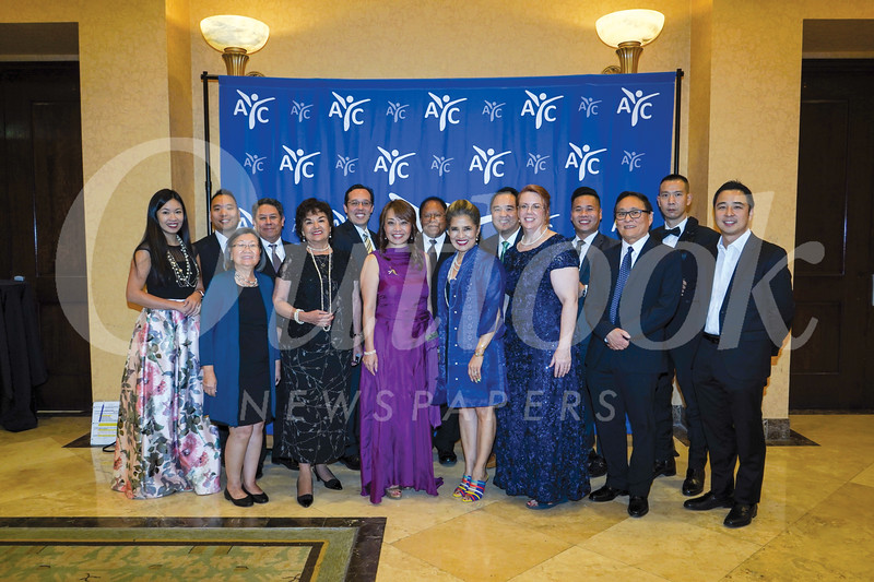 Asian Youth Center 2019 board of directors who attended the gala recently include: Lily Baba (front row, from left), Helen Romero Shaw, Mary Wong, Marissa Castro-Salvati, Michelle Freridge (executive director), Steven Maekawa, and Raymond Ho. Back: Elizabeth Yang, Ricky Choi, Stephen Arce, Michael Matoba, Russell Arnold, Adam Chang, Bryan Chau, and William Wu.