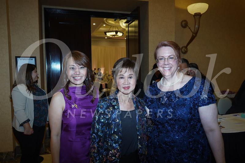 Mary Wong, Cordelia Wong and Michelle Freridge