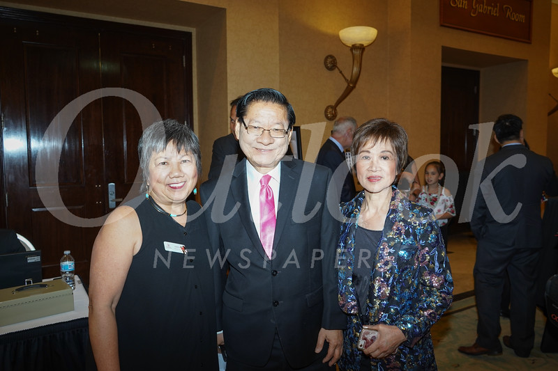 Linda Wah, Mike Eng and Cordelia Wong