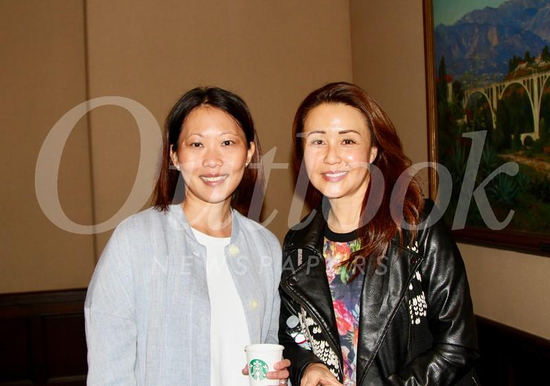 Rusini Haris-Rosen and Chris Yoo