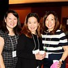 Elaine Pan, Janice Segimoto and Tiffany Chang-Sahakian