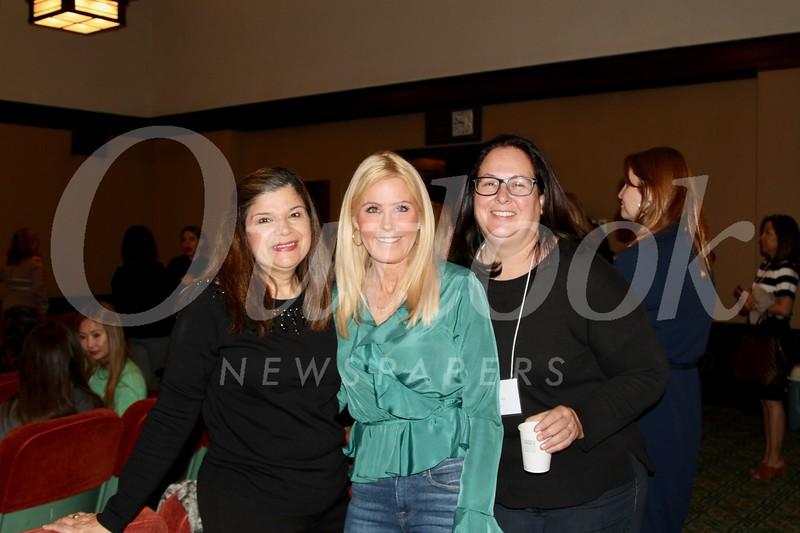 Hilda Martinez, Nancy Hittner and Julie Hill