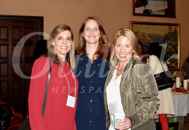 Julie Hannan, Ann Gluck and Leanne Snaer