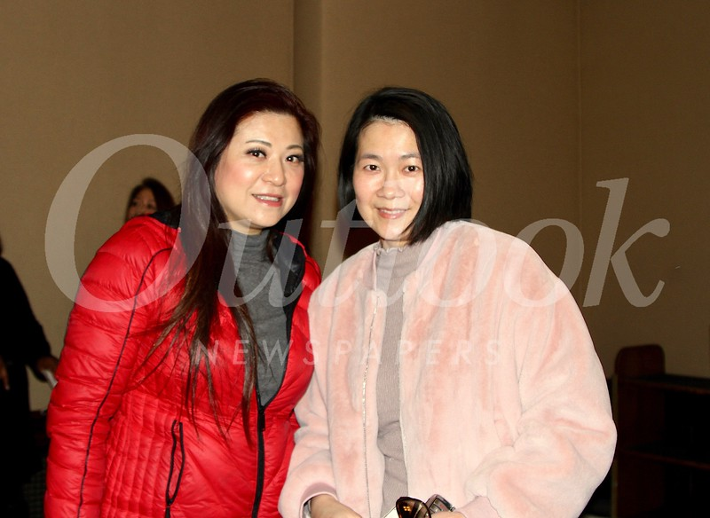 Sylvia Koh and Doris Cheung