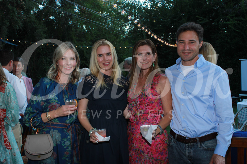 Catherine Adams, Amy Savagian, and Michele and John Waller