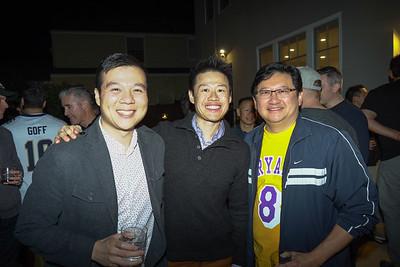 Eric Yeh, Chris Lee and Davis Wang