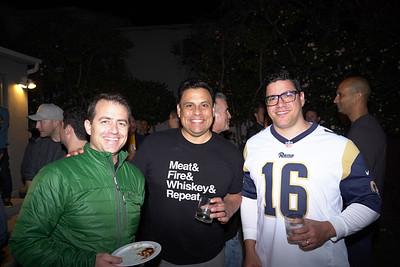 Rick Yeganeh, Tom Lagos and Marcus Studart