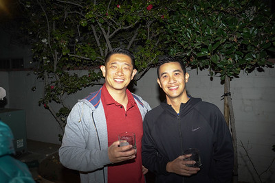 Fleming Chu and Tim Tewasart