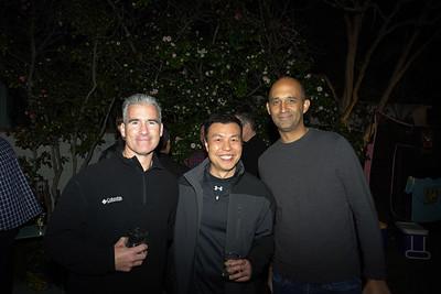 Steve Battaglia, Bill Chui and John Morning