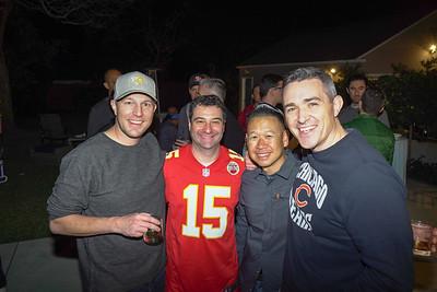 Joel Newton, Isaac Simon, Brian Wong and Brian Raleigh