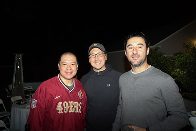 Howard Chan, Ivan Kim and Imad Daoud