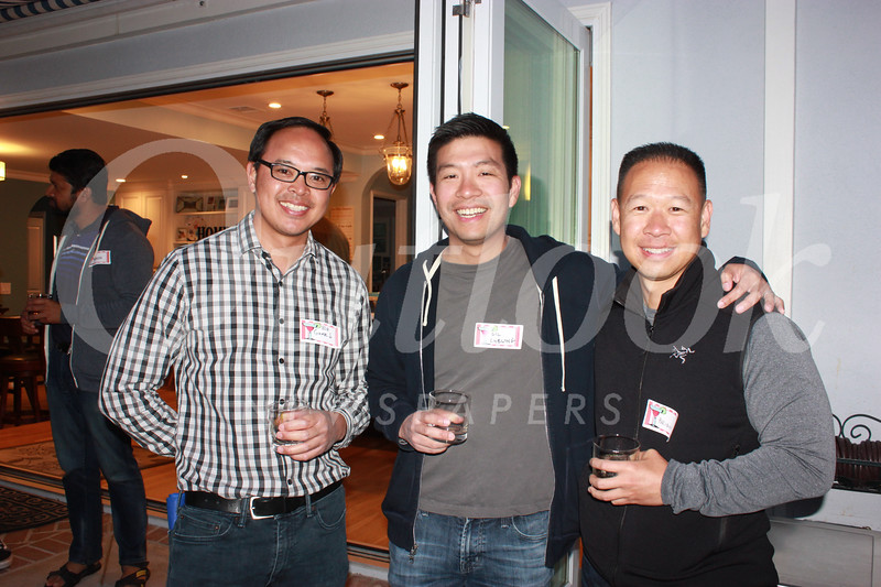 James Oliveros, Gil Cheung and Brian Wong