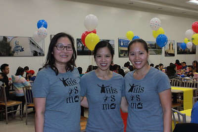 Co-chairs Christine Song, Jennifer Park and Cathy Newton