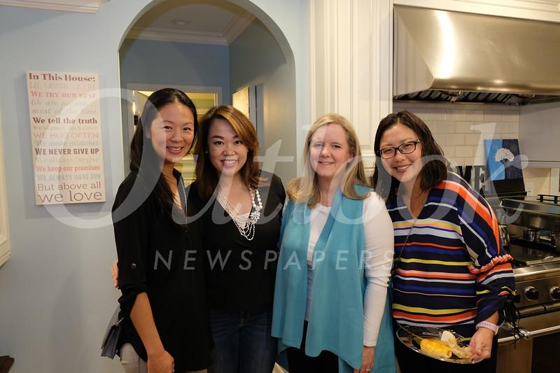 Jennifer Kang, Luyi Khasi, Jennifer Barberie and Hwannie Shen