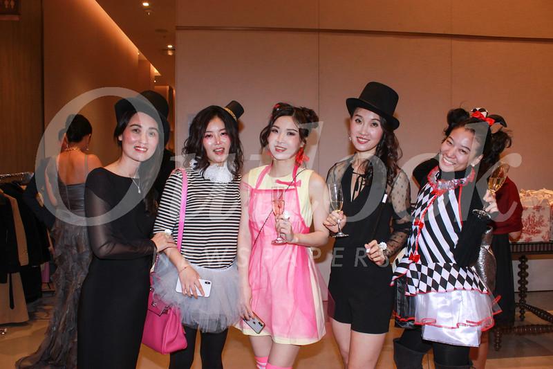 Vivien Zheng, Ling Dong, Samantha Chen, Tina Feng and Julie Zhu