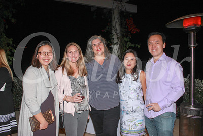 Hwannie Shen, Coreen Rodgers, Kathryn Oliveros, and Jacki and Gene Chuang