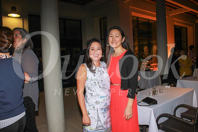 Parent party co-chairs Jacki Chuang and Andrea Yamamoto
