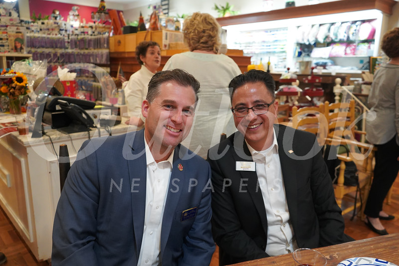 Christian Warner and Tony Chi-Su Gutierrez