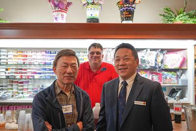Eugene Sun, Dan Hodgkiss and Jonathan Duong