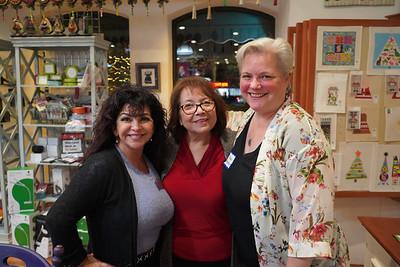 Joanna Jimenez, Hope Cruz and Beth Hernodobler