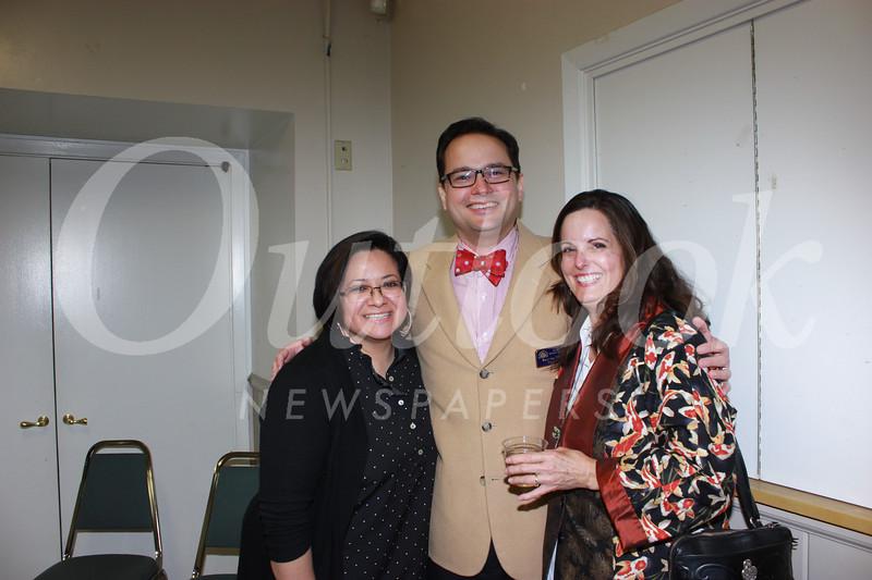 Dena Cruz, Karl von Tiehl and Nancy White