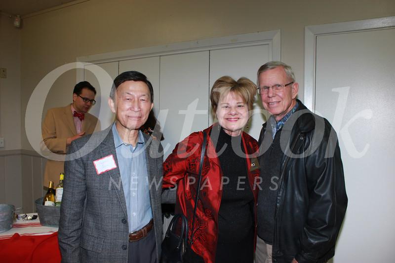 Eugene Sun, Susan Jakubowski and Dennis Kneier