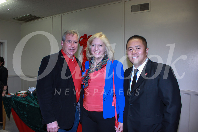 Gerry Poulin, Meg Middleman and Ed Chen