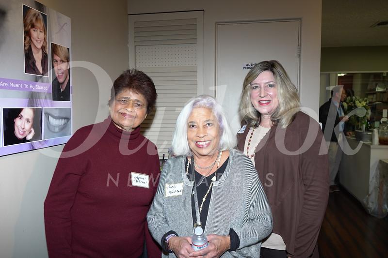 Soma Warna, Molly Woodford and Becky Happach