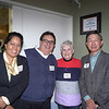 Veronica Vasquez, Alex Sansevieri, Sandy Troup and Eugene Sun
