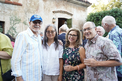 Tony and Kaye Poneck with Lynette and Fred Sohl