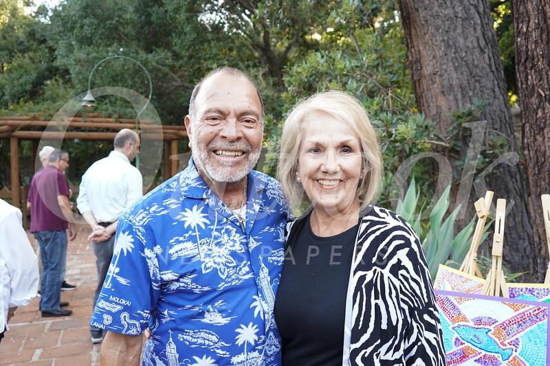 George Romero and Connie Moran-Romero