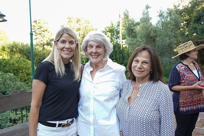 Kate Sinclair, Connie Zaia and Denise Milazo