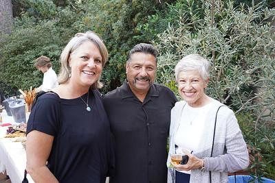 Kim and Pete Alvarez with Kathy Miller