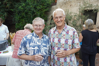 Bill Payne and John Quinn