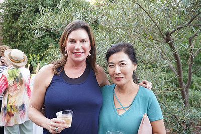 Brigit Woodward and Alice Song