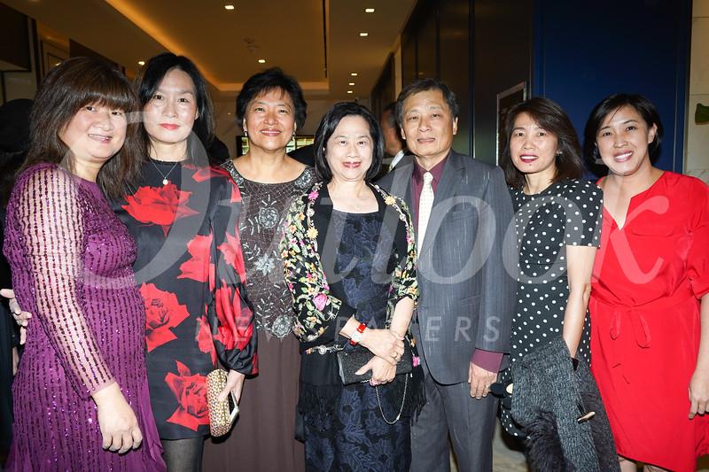 Lisa Wang, Peggy Chang, Annie Han, Ivy Sun, Richard Sun, Irene Shen and Christina Park
