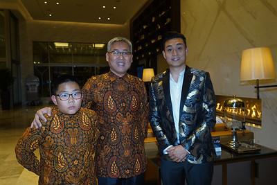 Winston Chou, Shawn Chou and Tony Chou