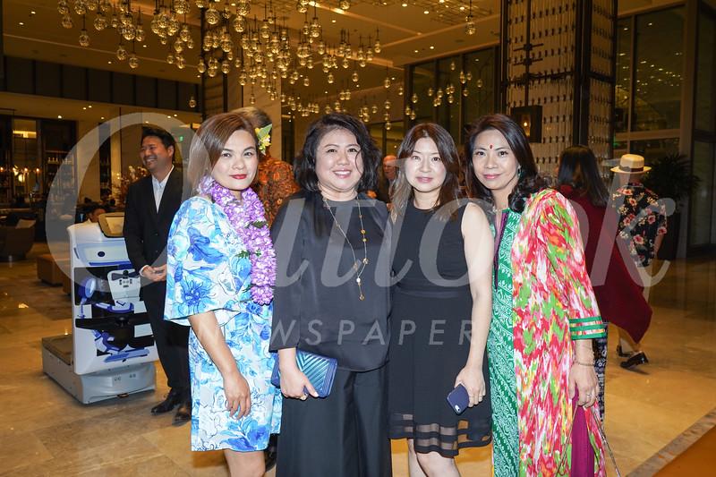 Janice Wong, Joyce Yeh, Nancy Hsu and Pearl Tang