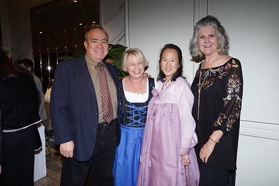 AJ Faure, Beth Davis, Jane Chon and Alana Faure